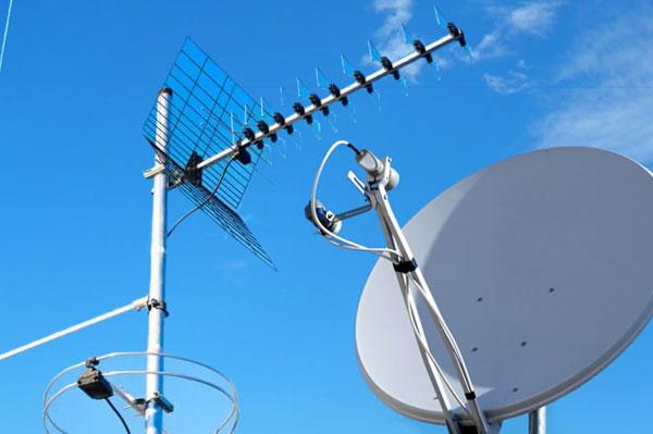Antenne TV digitale terrestre e satellitare
